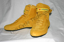 Yellow Go Kart Driving Racing  Shoes, PCR, CRG, Margay