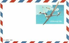 United States Of America Usa 1982 Usps 28c Postage Pre-Stamped Airmail Postcard