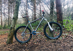 Van Nicholas MamTor Titanium Hardtail Mountain Bike HOPE THOMSON ROCKSHOX SLX/XT