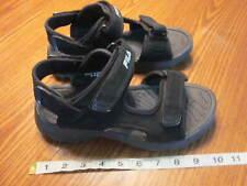 Fila Mens transitions sport sandal black size 8