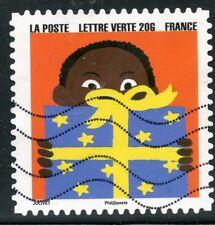 TIMBRE FRANCE  AUTOADHESIF OBLITERE N° 1195 / BONNE ANNEE / FETE DE FIN D'ANNEE