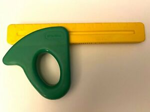 Little Tikes Workshop SQUARE RULER Tool Box Replacement Green & Yellow