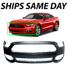 NEW Primered Front Bumper Cover Fascia for 2015 2016 Ford Mustang 15 16 W/o Tow