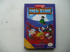 NTSC NES Makai Island by Capcom in English CIB game