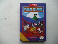 NTSC NES Makai Island by Capcom in English CIB game