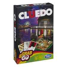 Hasbro Gaming Grab & Go Cluedo Edition Travel Board Game Ages 8+ *BRAND NEW*