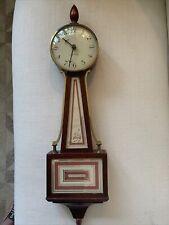 """Vintage Seth Thomas Banjo Wall Clock """"Homestead-E"""