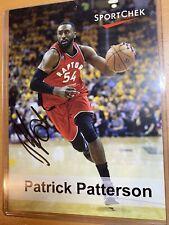 Toronto Raptors Patrick Patterson Signed NBA Basketball 5X7 Autograph Picture