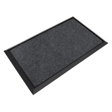 Sealey DRM01 Rubber Disinfection Mat With Removable Carpet 450 x 750mm