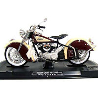 Guiroy #17652 1/10 Indian Chief 384 (1948) / Brown-Cream Diecast Model