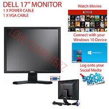 "DELL E177 E178 17"" HD LCD TFT FLAT PANEL MONITOR FOR OFFICE COMPUTER CCTV"