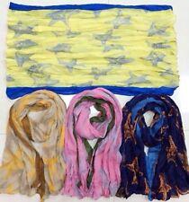 JOBLOT ALL'INGROSSO 12 PZ STAR foulard pashmina regalo Fiore Paisley grandi dimensioni
