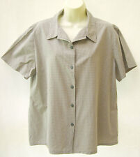 Millers olive checked shirt ~ Size 20