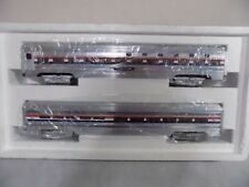 MTH 70' Scale Aluminum Amtrak Sleeper/Diner Set Train! 3-Rail! MT-6508! NIB