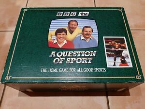 Question of Sport Board Game 1986 Complete with Mike Tyson and Maradona Cards
