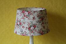 zauberhafter Lampenschirm Rosendekor  Stoff  Clayre & Eef  XL  CE1F