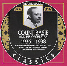 1936-1938 by Count Basie (CD, Apr-1990, Classics)
