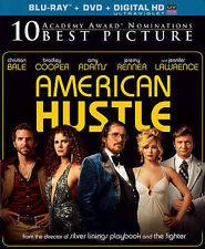 American Hustle Bradley Cooper Amy Adams  (Blu-ray/DVD, 2014, 2-Discs) WS