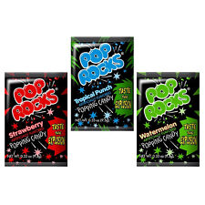 POP ROCKS ASSORTED, PACK OF 6 POP ROCKS