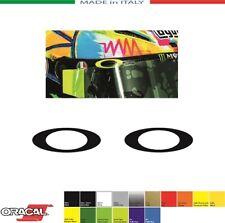 2 ADESIVI OAKLEY LOGO mm.50x18 STICKERS AUFKLEBER PEGATINAS VALENTINO ROSSI