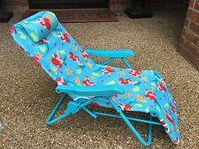 Little Mermaid Ariel Lounge Patio Chair - Disney, Folding, Adjustable very HTF
