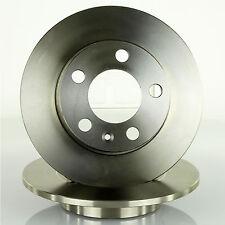 2x Bremsscheibe Bremsscheibensatz Ø 230mm voll hinten für VW Golf 4 Polo 9N 6R