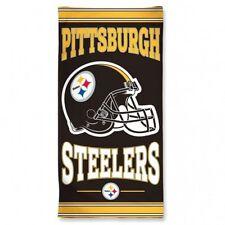 "NEW Pittsburgh Steelers Fiber Beach Towel 30"" X 60"" NHL Beach/Bath Towel"