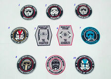 10 PCS STAR WARS IMPERIAL ARMY STORMTROOPER GALAXY TROOPER PATCH BADGE