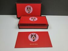 """GUCCI 2018 Chinese New Year """"Orso"""" Print (Year Of The Dog) Red Pocket Envelopes"""