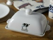 FARMERS MARKET Ceramic BUTTER DISH