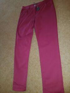 Laura Ashley Size 10 Raspbery Jeans