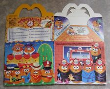 1988 McDonalds Happy Meal Box - McNugget Buddies - RARE!  #4