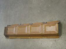 "Old Antique ( Metal )  tin ceiling tile / tiles 24"" x 6""  Trim"