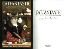 Grand Master Andre Norton SIGNED AUTOGRAPHED Catfantastic HC 1st Ed/1st RARE