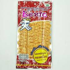 Squid seafood snack sweet&spicy flavour,squid mixed surimi,bento brand 20g fat0%