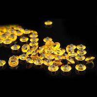 10mm Wedding Table Decorations Crystal Diamond Confetti Diamante Gems Party