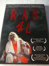 Ran Dvd Masterworks Edition Digitally Restored Hi-Def Transfer Akira Kurosawa
