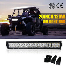 20INCH LED WORK LIGHT BAR SPOT FLOOD OFFROAD DRIVING FOG LAMP JEEP 4WD ATV SUV