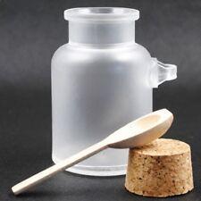 Round Plastic Bottle Cosmetic Cork Jar Cork Bottle ABS Bath Salt Bottle Round