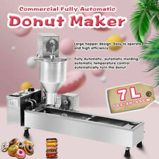 More details for commercial automatic donut maker making machine,wide oil tank,3 sets mold