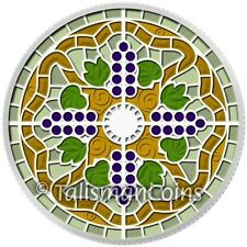 Canada 2014 Stained Art Glass 2 Casa Loma Castle $20 Pure Silver Proof w/ Enamel
