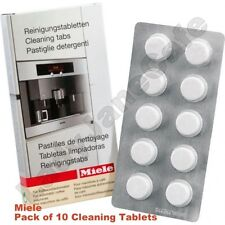 10 PACK OF MIELE AUTOMATIC COFFEE MACHINE CLEANING TABLETS