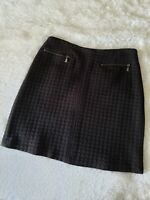 Laundry by Shelli Segal Black Skirt Size 8