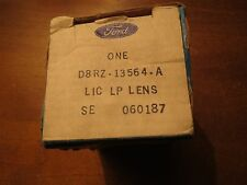 NOS 1978 1979 1980 FORD FIESTA REAR LICENSE PLATE LAIGHt LAMP LENS NEW ORIGINAL