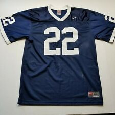 Nike Penn State College Football Jersey sz XL Blue White #22 Short Sleeve H27