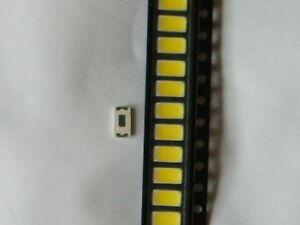50 Stück Leuchtdioden  /  Led /  SMD 5730 / 6000-6500K / Tageslichtweiß /
