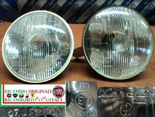 COPPIA FARO ANTERIORE FIAT 2300 1300 1500 850 COUPE 124 S FULVIA PAIR HEADLIGHT