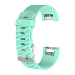 For Fitbit Charge 2 S L Wrist Band Watch Strap Replacement Silicone Sport Men