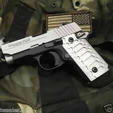 """SIG SAUER P238 Grips Billet Aluminum  """"SIG P238 Satin Cobra"""""""