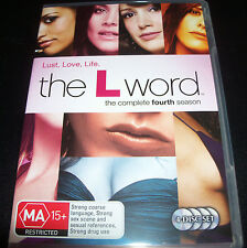 The L Word The Complete Fourth Season 4 (Australia Region 4) DVD - Like New